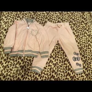 Jacket and pants Hello Kitty size 2T